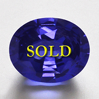 Unheated Shani Uparatna: Cobalt Blue Spinel for Vedic Astrology (Jyotish) and Ayurveda