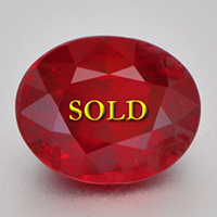 Sun Ruby for Vedic Astrology (Jyotish) and Ayurveda