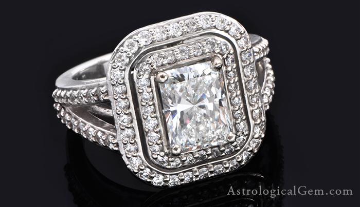 white sapphire diamond venus gemstone vedic astrology benefits